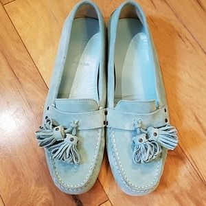 J crew tassel driving loafer